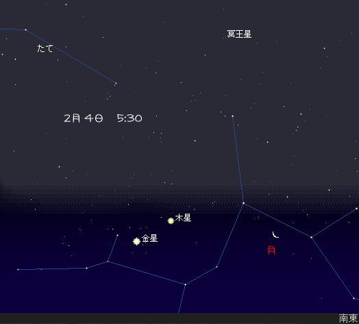 2008 2 1~5 早起きの空 2-4 星図3
