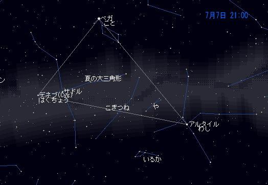 2008 7 7 七夕まつり星図2