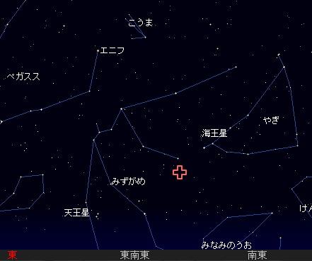 2008 7 29 みずがめ座δ流星群星図