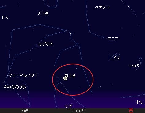 2008 8 17 部分月食星図1