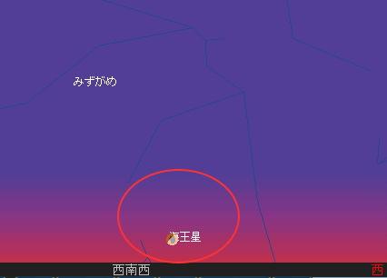 2008 8 17 部分月食星図2