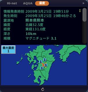 防災科研の地震情報
