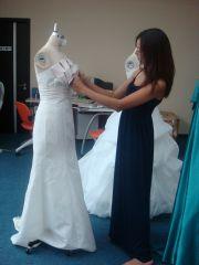 ドレス製作3