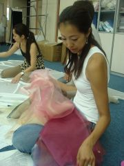 ドレス製作2