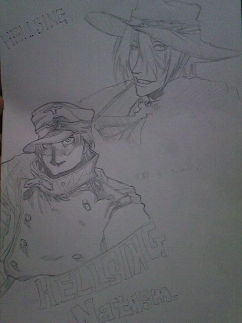 初描きワンちゃんとアーさん。