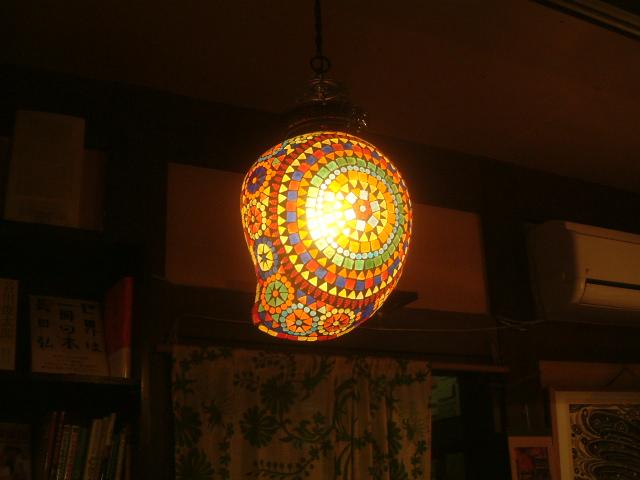 インディアン モザイク ランプ