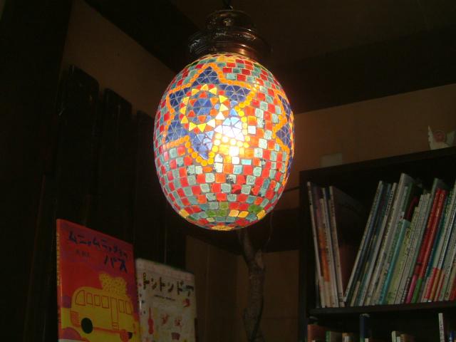 インディアン モザイク ランプ (2)