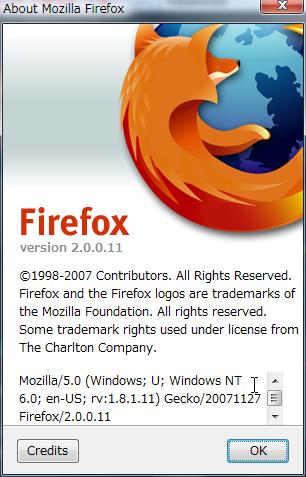 Firefox 2.0.0.11