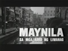 Maynila: Sa mga Kuko ng Liwanag Title