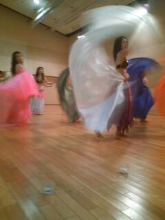 ベリーダンス 練習