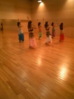 ベリーダンス練習2