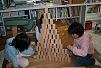 小学生オリジナル積み木で遊ぶ 003 最小