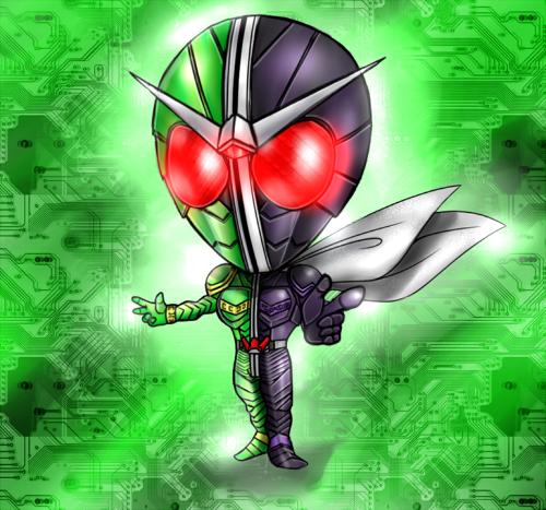 仮面ライダーW:サイクロンジョーカーSDver.