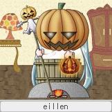 怪しいかぼちゃ尽くし。 自分で湯加減も調節できます。