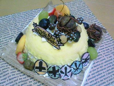 つ~のケーキ