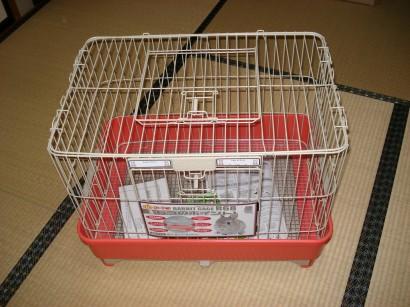 20.1.10ミニウサギのケージ 021ミニウサギケージ