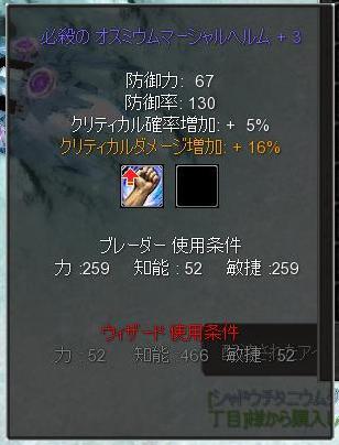 必殺ダメ16%率梅