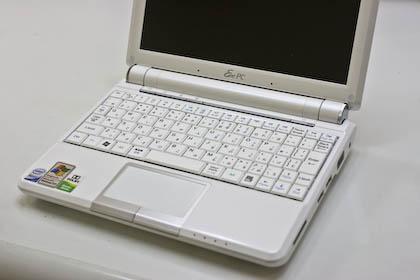 Eee PC 901-Xのキーボード