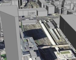 建物の3D表示レイヤー