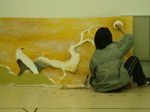 絵師・郁さん2