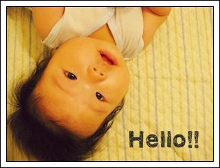 こんにちわ♪