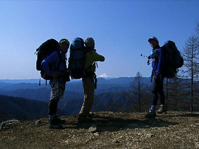 雲取山ハイク2