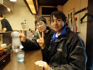 ラーメン屋にて@新宿