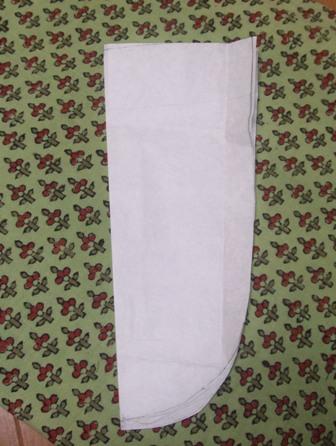 リメイクワイドパンツ型紙