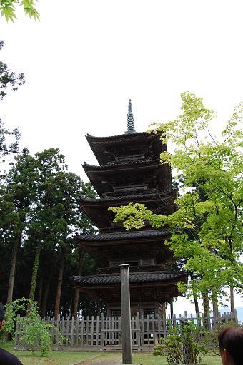 妙宣寺の五重塔