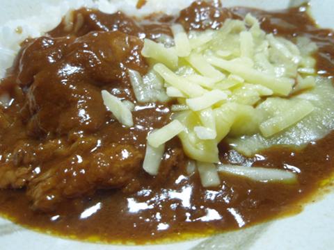 桃豚カレー2