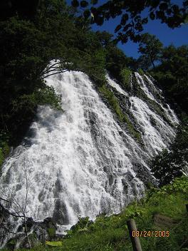 オシンコシンの滝(北海道)