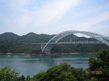 しまなみ海道にて(愛媛県)