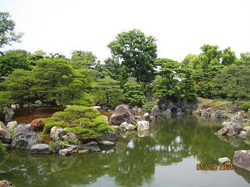 二条城にて(京都府)