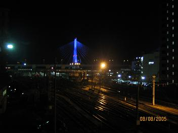 夜の青森(青森県)