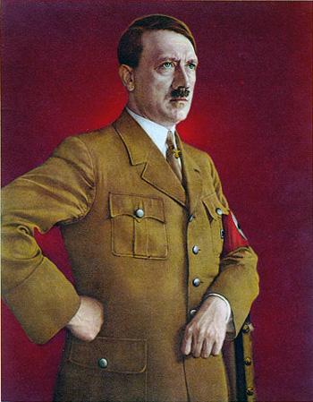 ヒットラー肖像画