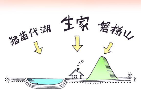 会津磐梯山は~宝~の~山よ~♪