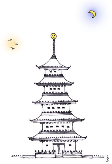 五重塔は誰が建てたでしょう   か?