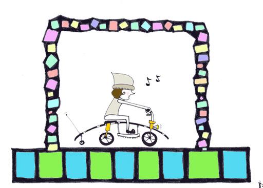 歌いながらドライブ