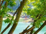 時がゆったりと過ぎる美鈴湖
