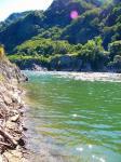 木曽川の流れ