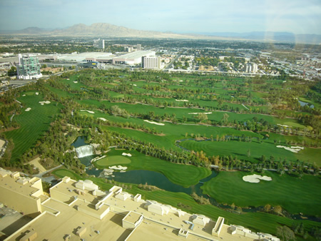 LasVegasのゴルフ場