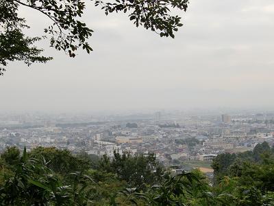 呉羽山から見た風景