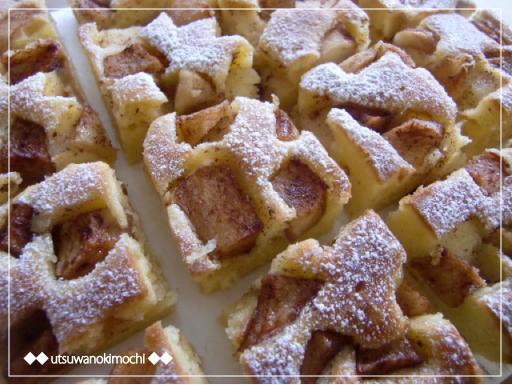 りんごとシナモンのケーキ_1