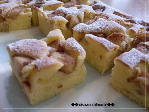 りんごとシナモンのケーキ_2