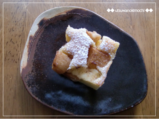 りんごとシナモンのケーキ_3
