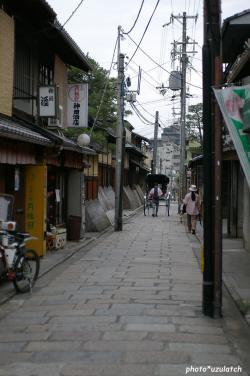 祇園の人力車