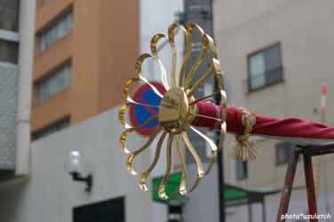 菊の飾り物