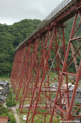 巨大橋脚部