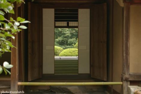 詩仙堂玄関