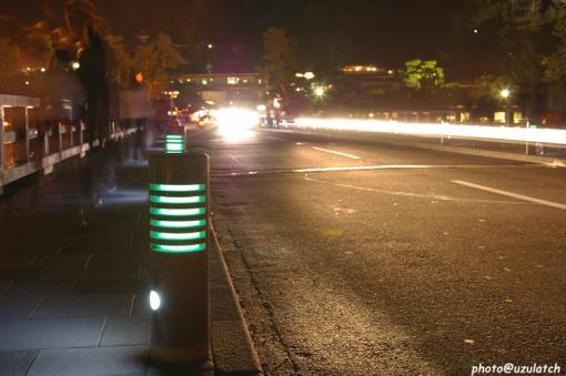 渡月橋上行灯
